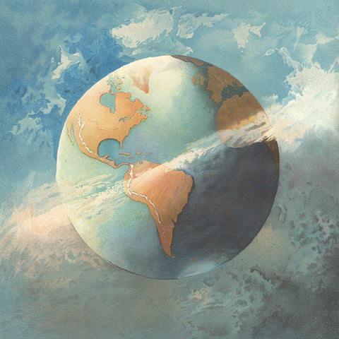 Illustration of the Earth