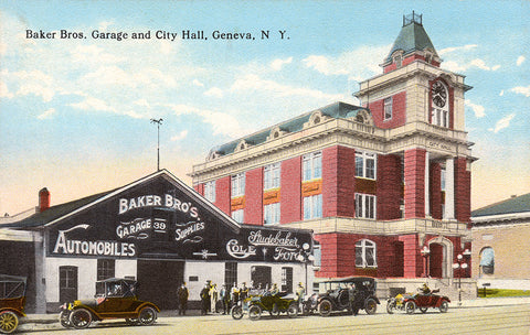 Baker Bros. Garage and City Hall, Geneva, NY