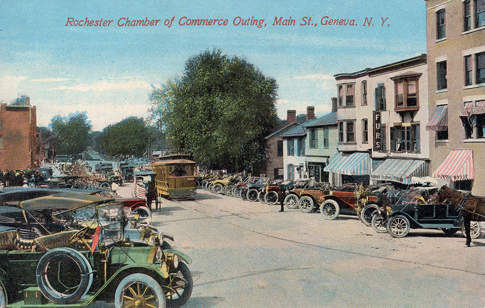 Rochester Chamber of Commerce Outing, Main St., Geneva, NY - Print - Stomping Grounds