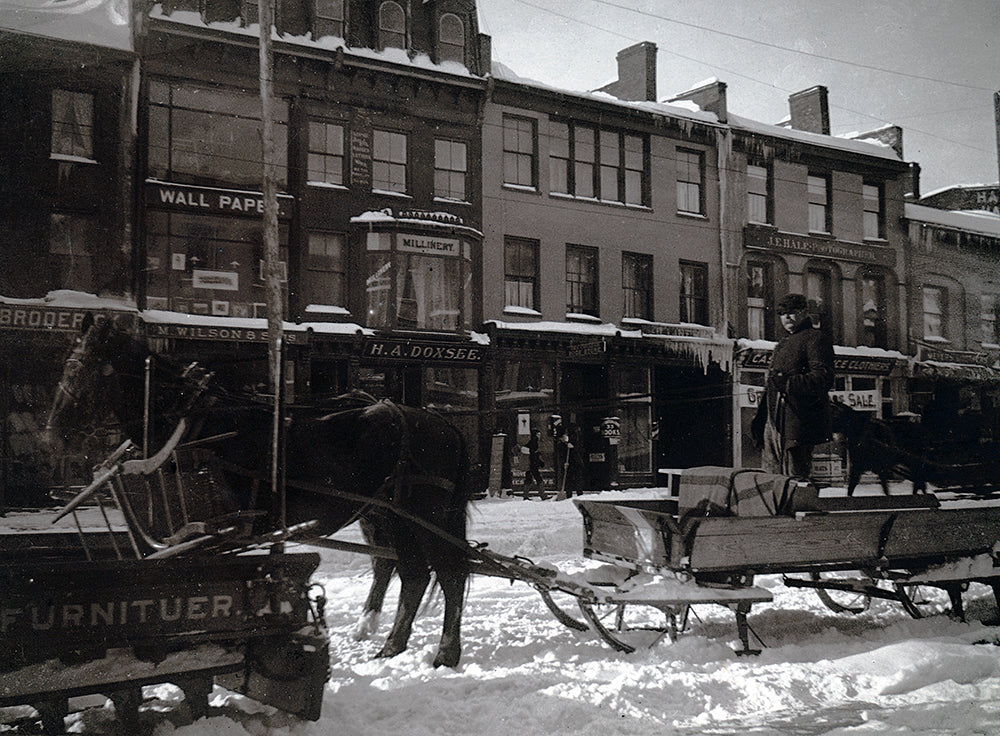 All Froze Over- Seneca St. Furnituer Wagon - Print - Stomping Grounds