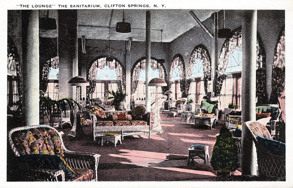 """The Lounge"" The Sanitarium, Clifton Springs NY - Print - Stomping Grounds"