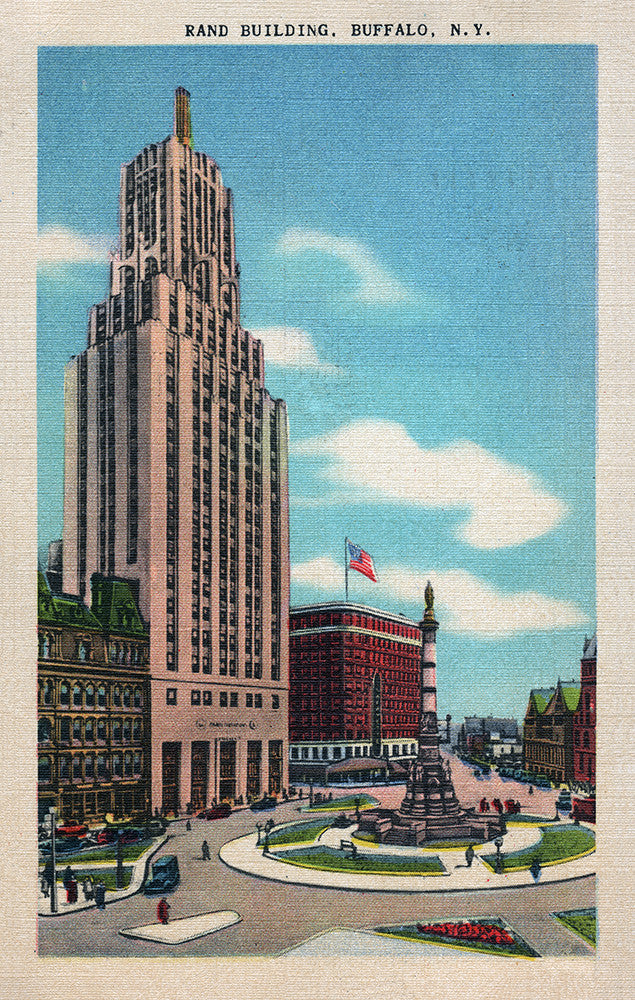 Rand Building, Buffalo, NY - Print - Stomping Grounds