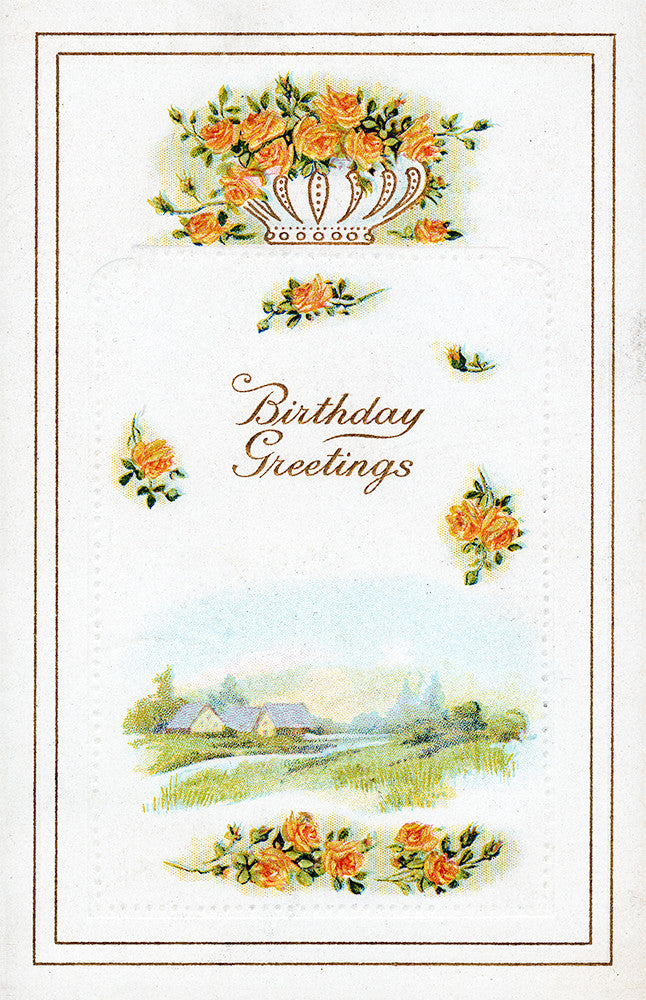 Birthday Greetings - Print - Stomping Grounds