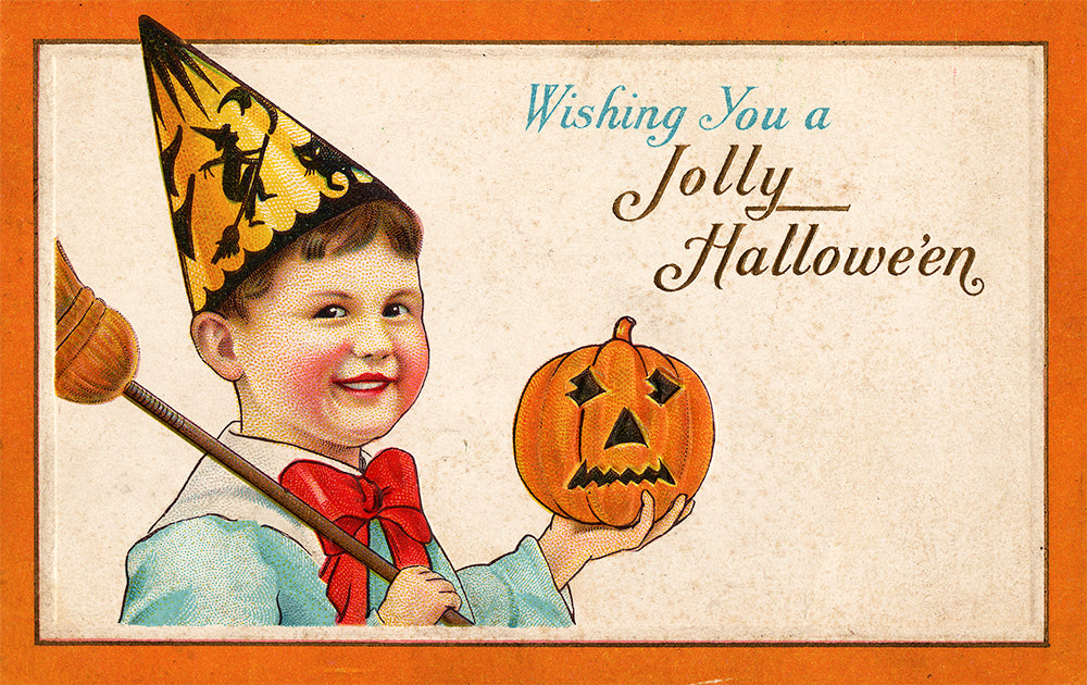 Wishing You a Jolly Hallowe'en - Print - Stomping Grounds
