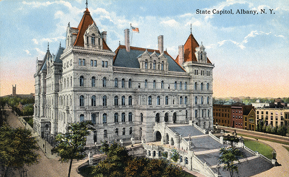 State Capitol, Albany NY - Print - Stomping Grounds