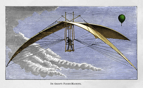 De Groof's Flying - Machine