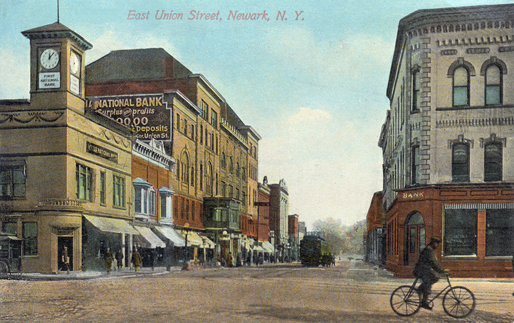 East Union St. Newark NY II - Print - Stomping Grounds