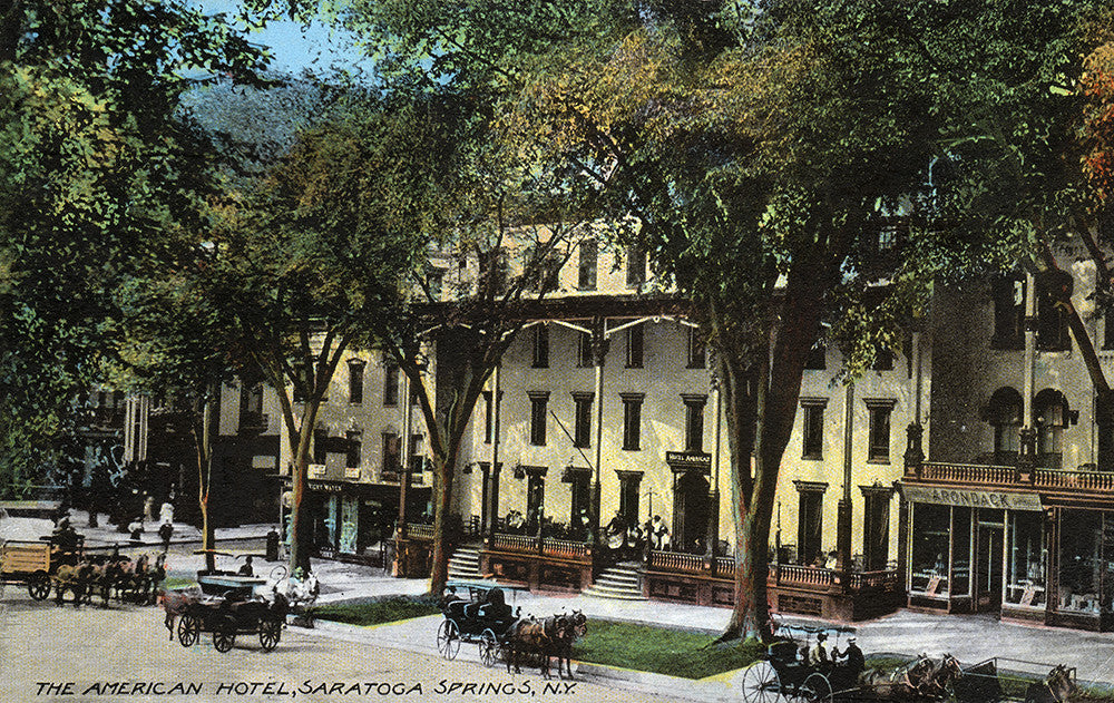 The American Hotel, Saratoga Springs, NY - Print - Stomping Grounds