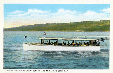 One of the Strollers on Seneca Lake at Watkins Glen, New York
