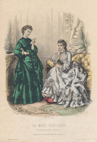 La Mode Illustree 1871 No. 7