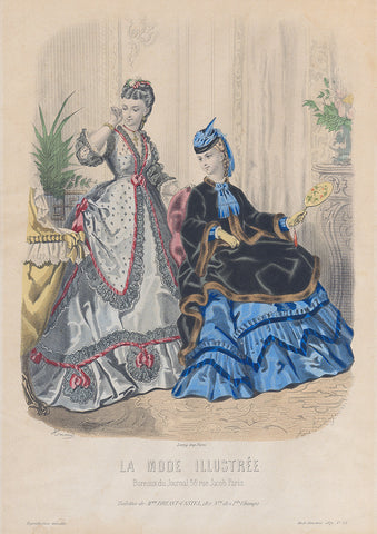La Mode Illustree 1871 No. 52