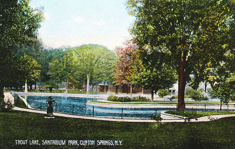 Trout Lake, Sanitarium Park, Clifton Springs, NY