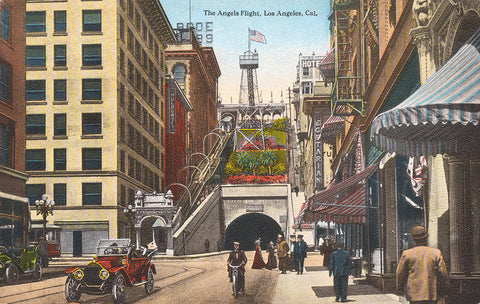 The Angels Flight, Los Angeles, California
