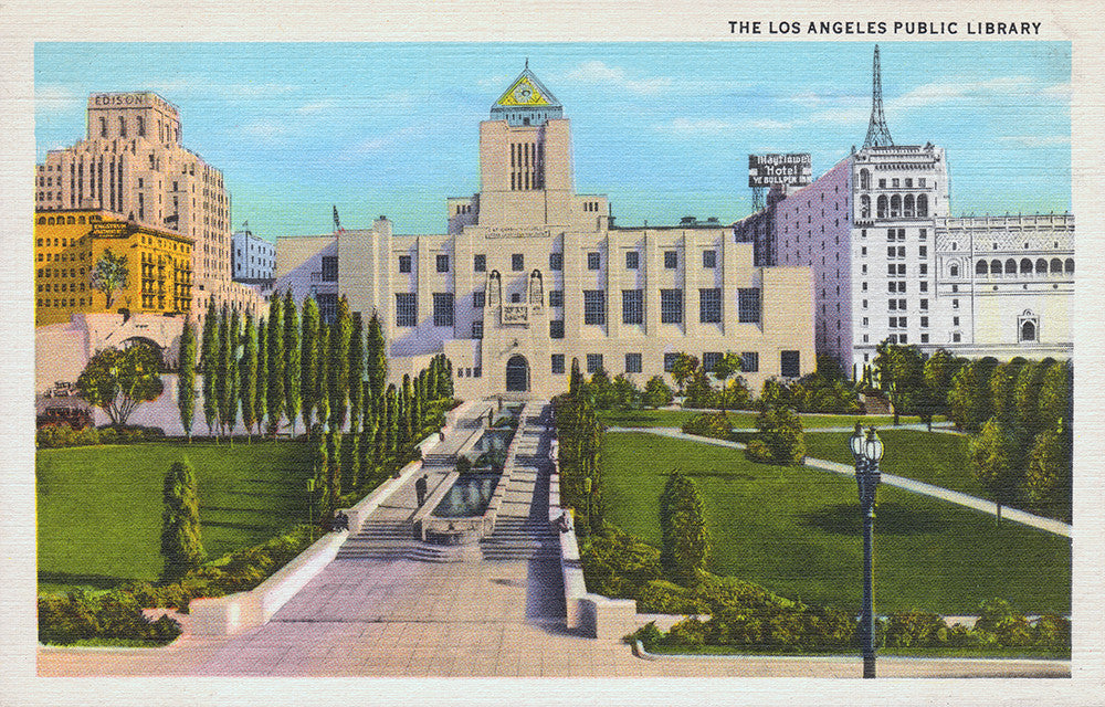 The Los Angeles Public Library - Print - Stomping Grounds