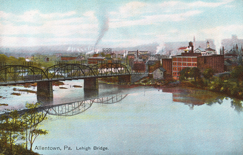 Lehigh Bridge, Allentown, PA - Print - Stomping Grounds