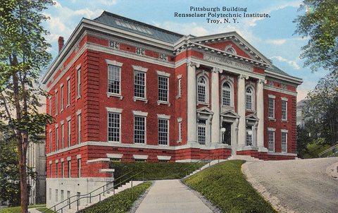 Pittsburgh Building, Rensselear Polytechnic Institute, Troy, NY