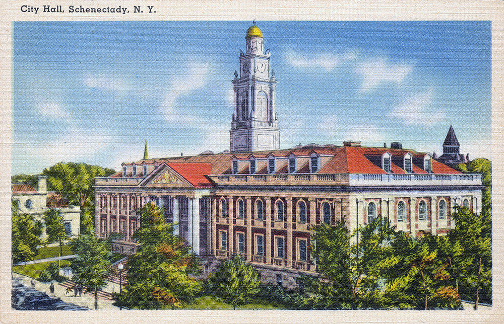 City Hall, Schenectady, NY - Print - Stomping Grounds