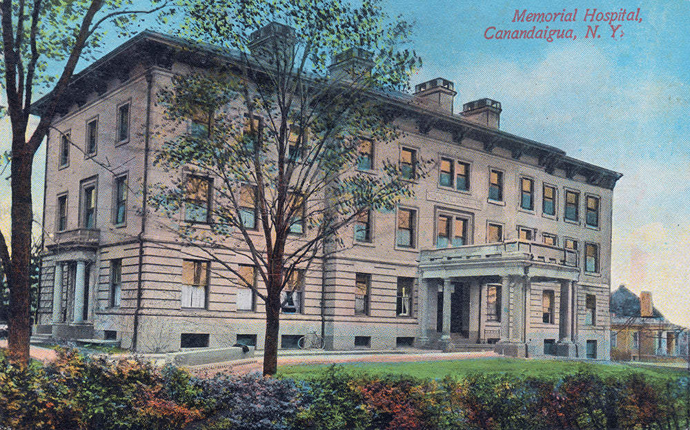 Memorial Hospital, Canandaigua, NY - Print - Stomping Grounds