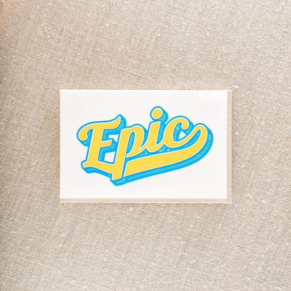 Pike Street Press - Epic Greeting Card - Notecard - Stomping Grounds