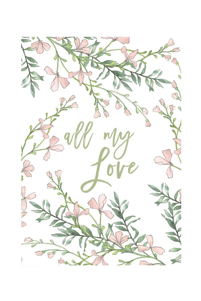 All My Love - Notecard - Stomping Grounds