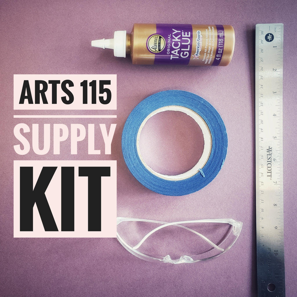 ARTS 115 INTRO TO 3D SUPPLY KIT