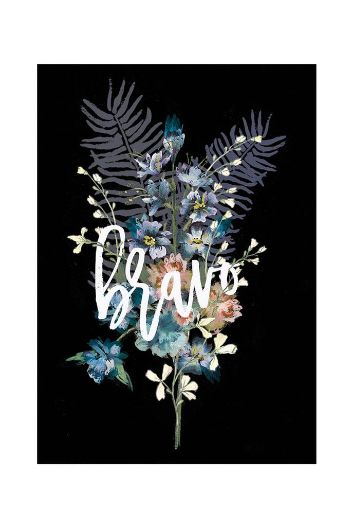 Bravo Bouquet - Notecard - Stomping Grounds
