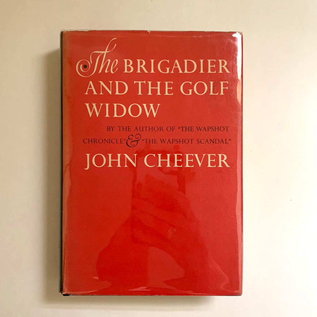 Vintage Book- The Brigadier and the Gold Widow by John Cheever