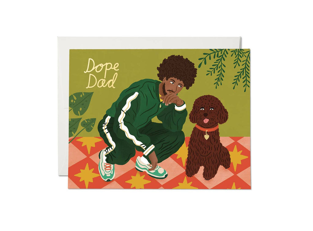 Red Cap Cards - Dope Dad - Notecard - Stomping Grounds