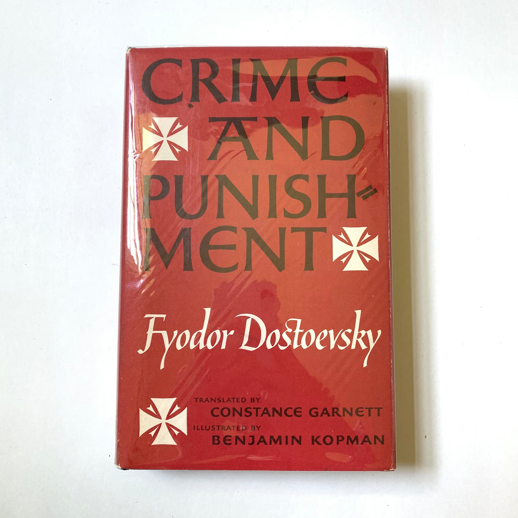 Vintage Book- Crime and Punishment by Fyodor Dostoevsky