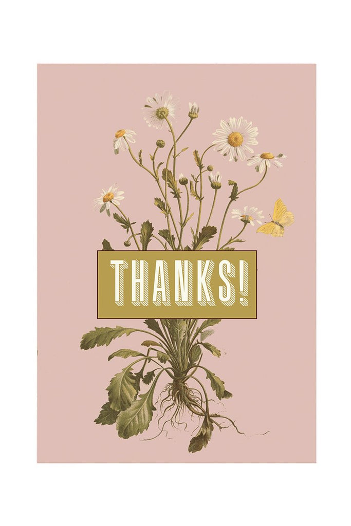 Daisy Thanks - Notecard - Stomping Grounds