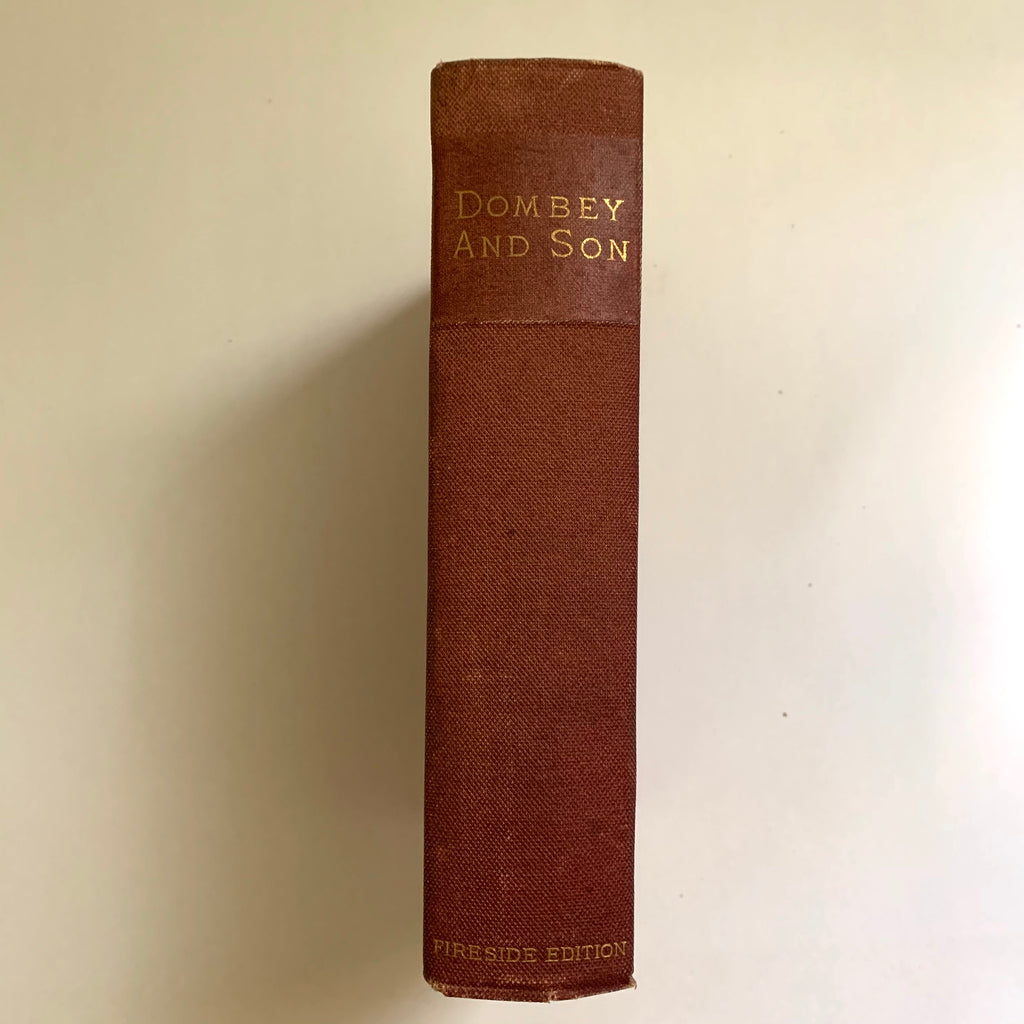 Vintage Book- Dombey and Son Vol. 1 by Charles Dickens