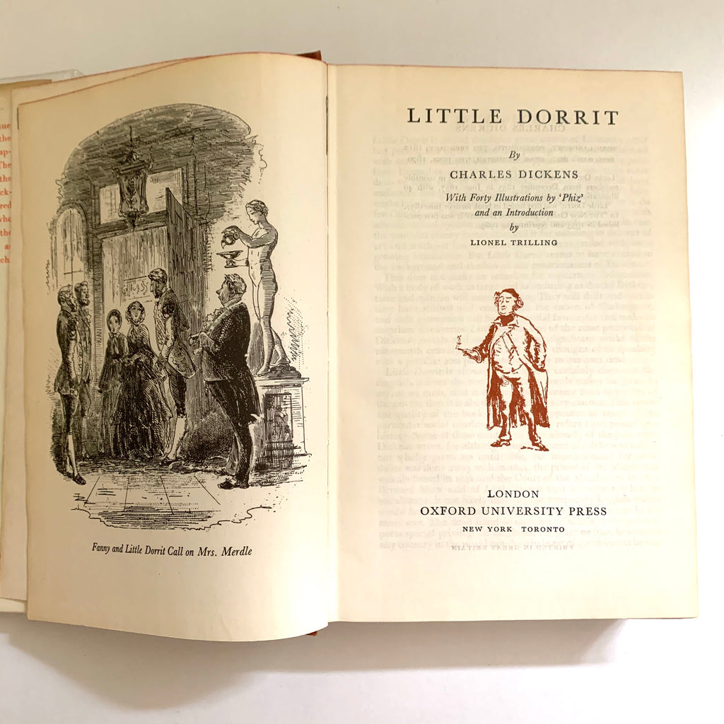 Vintage Book- Little Dorrit by Charles Dickens