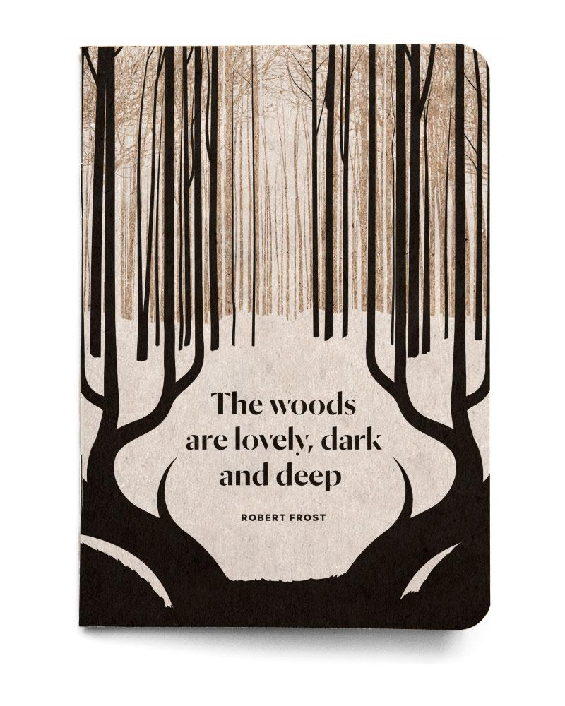 Robert Frost Pocket Notebook