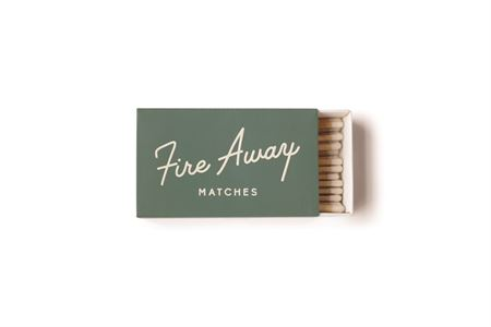 White Safety Matches- Fire Away - Gift - Stomping Grounds