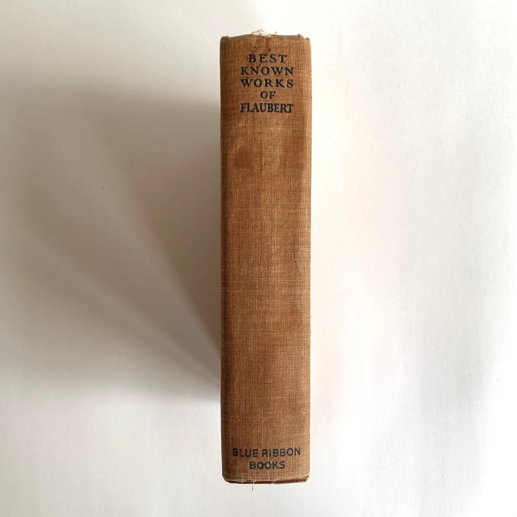 Vintage Book- Best Known Works of Gustave Flaubert
