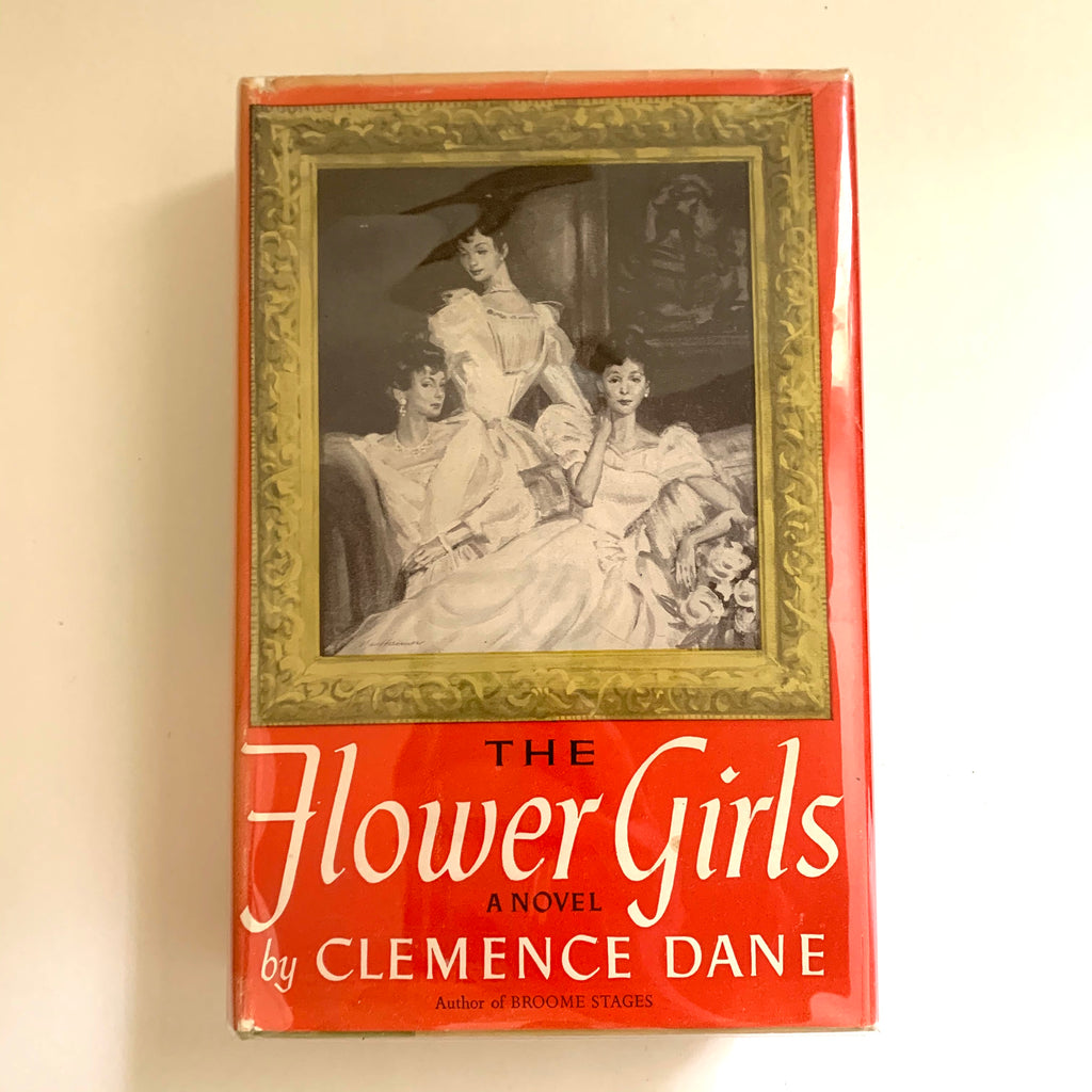 Vintage Book- The Flower Girls by Clemence Dance