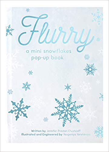 Flurry- A Snowflakes Mini Pop-Up Book - New Book - Stomping Grounds
