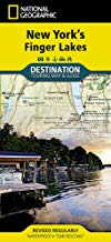 New York's Finger Lakes- Destination Touring Map and Guide - New Book - Stomping Grounds