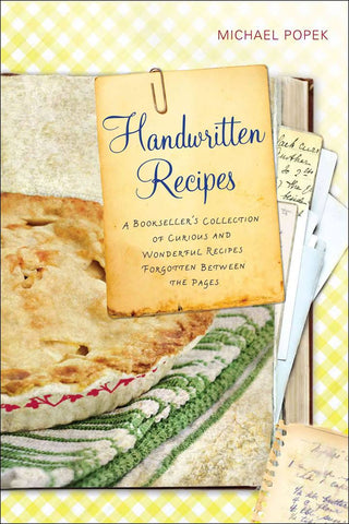 Handwritten Recipes - New Book - Stomping Grounds