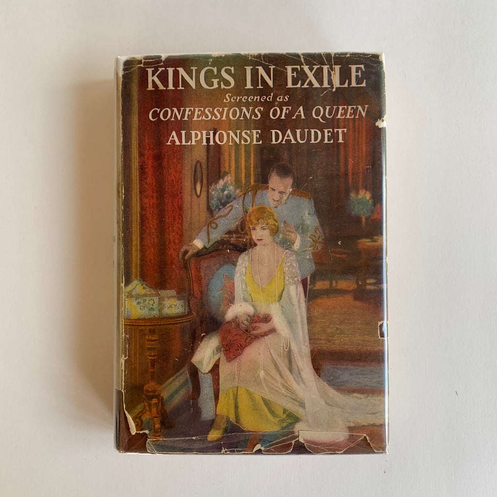 Vintage Book- Kings in Exile by Alphonse Daudet
