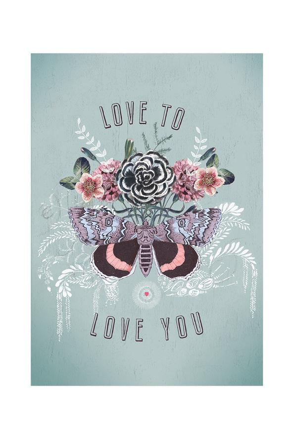 Love to Love - Notecard - Stomping Grounds