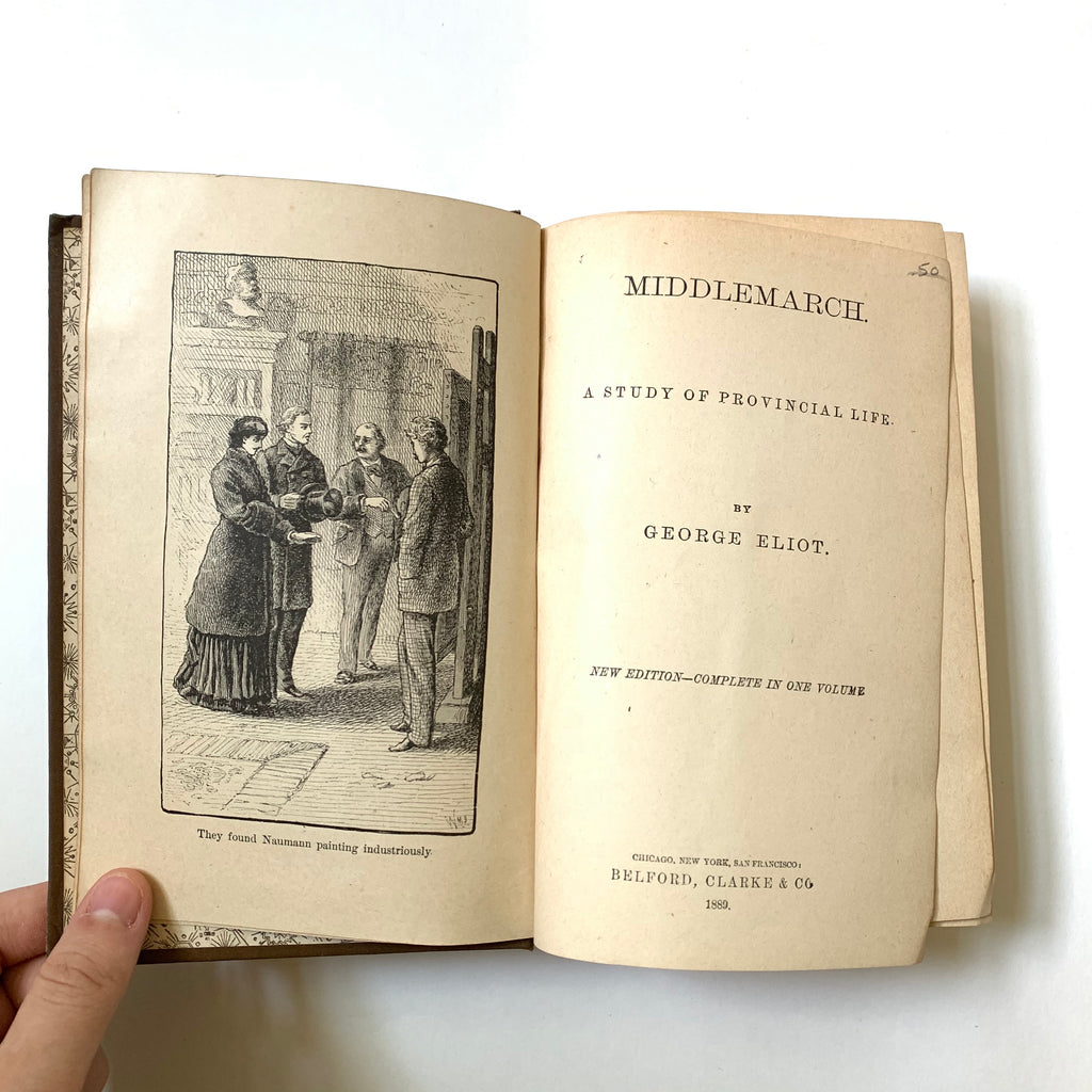 Vintage Book- Middlemarch by George Eliot