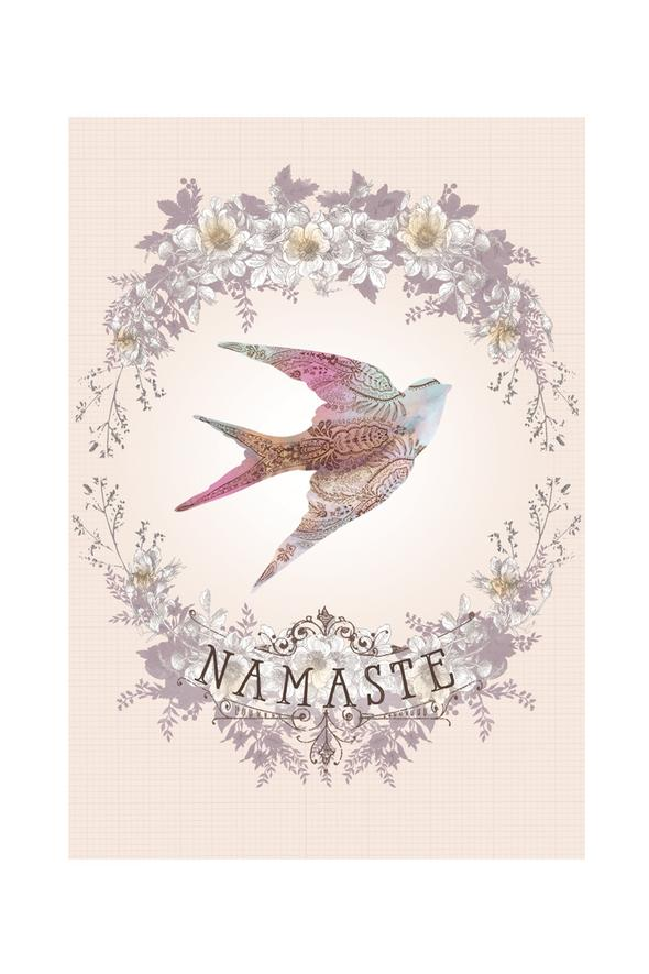 Namaste Flight - Notecard - Stomping Grounds