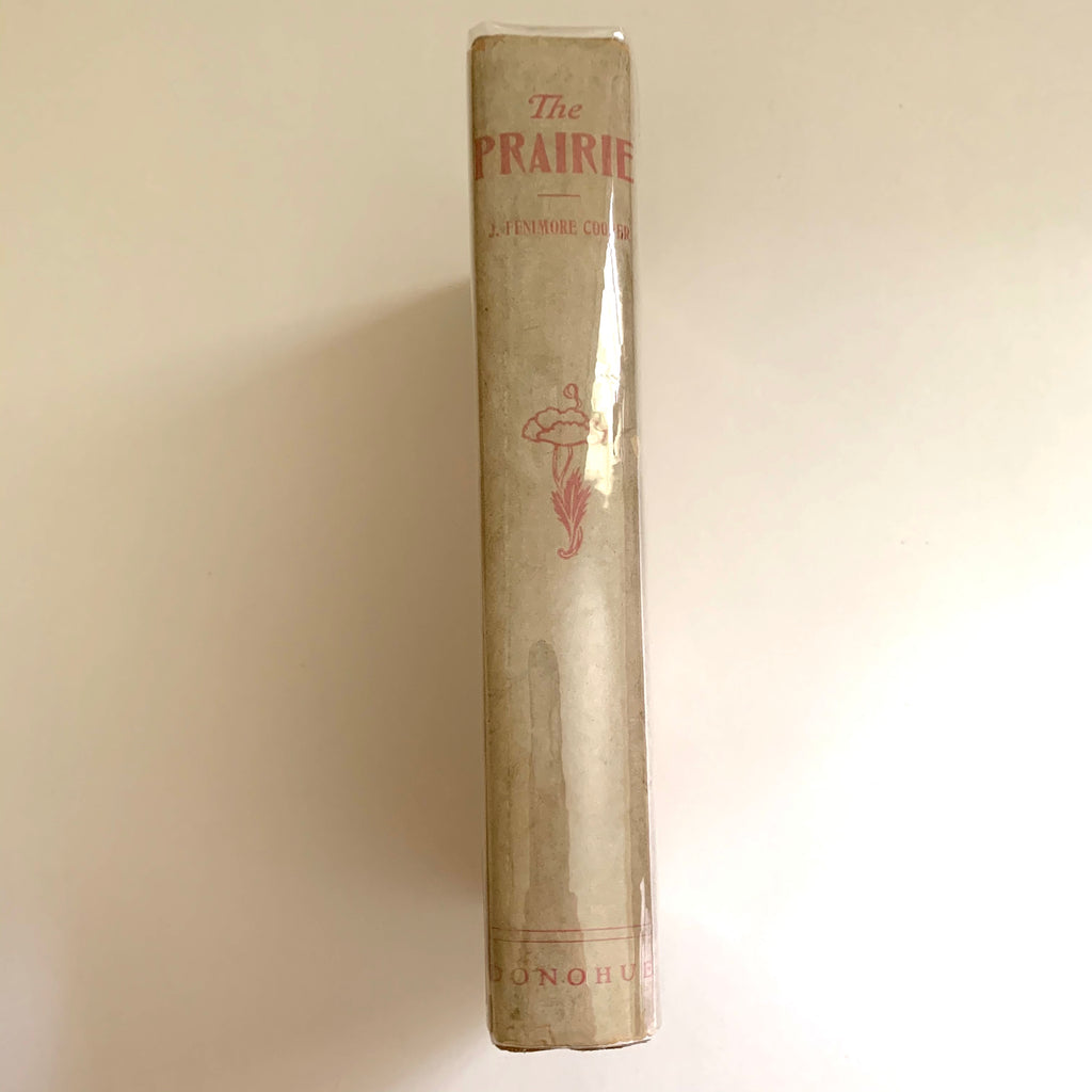 Vintage Book- The Prairie by J. Fenimore Cooper