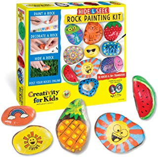 Rock Painting Kit - Gift - Stomping Grounds