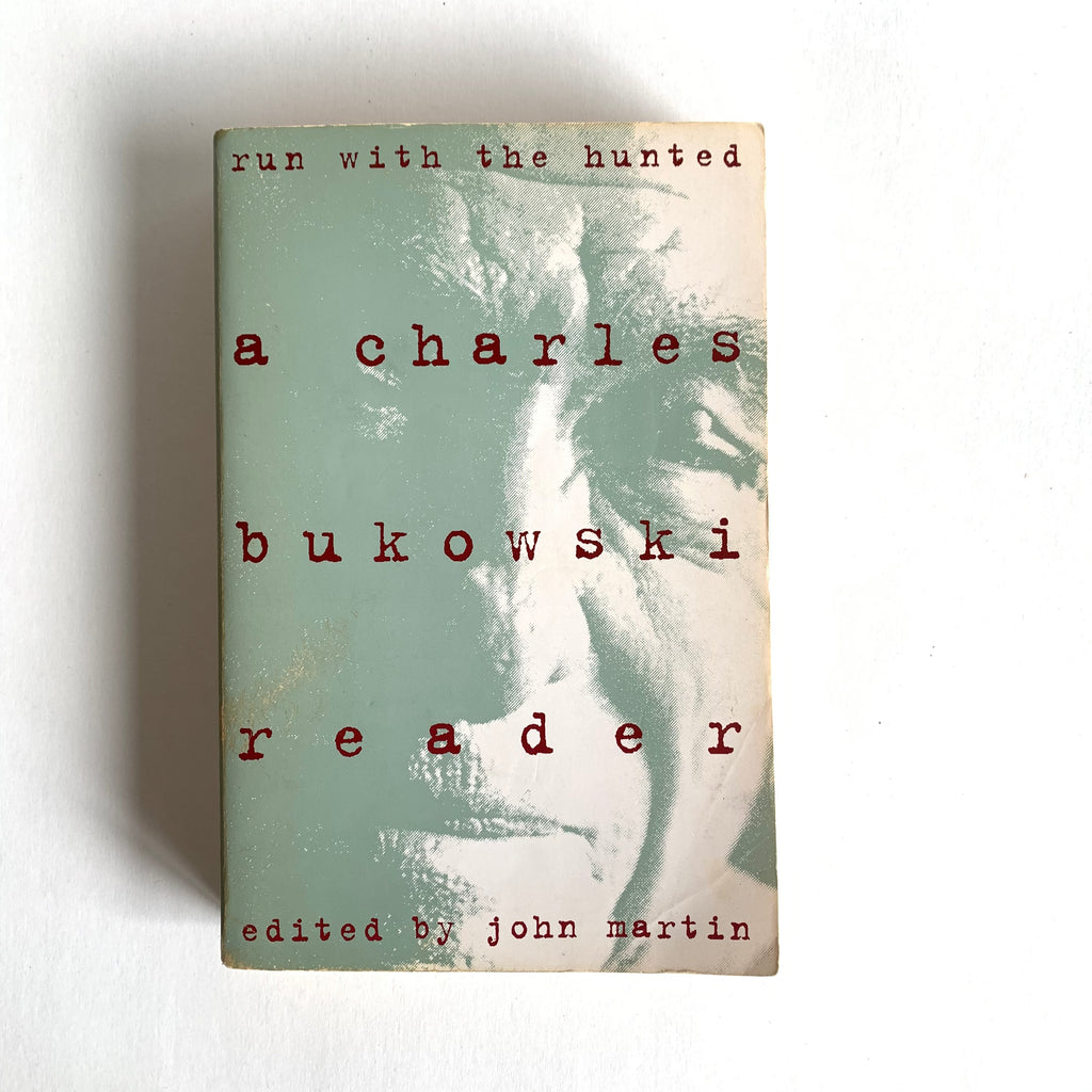 Vintage Book- Run with the Haunted by Charles Bukowski