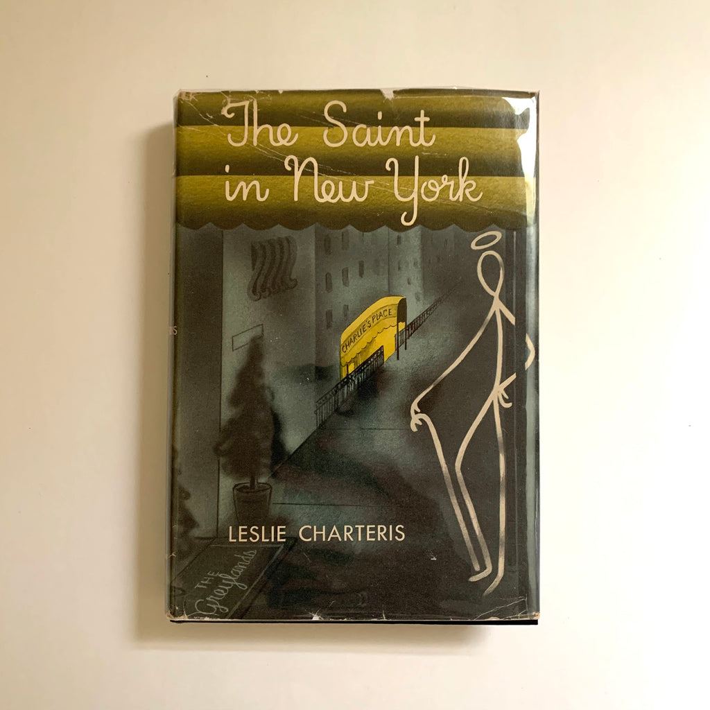 Vintage Book- The Saint in New York by Leslie Charteris