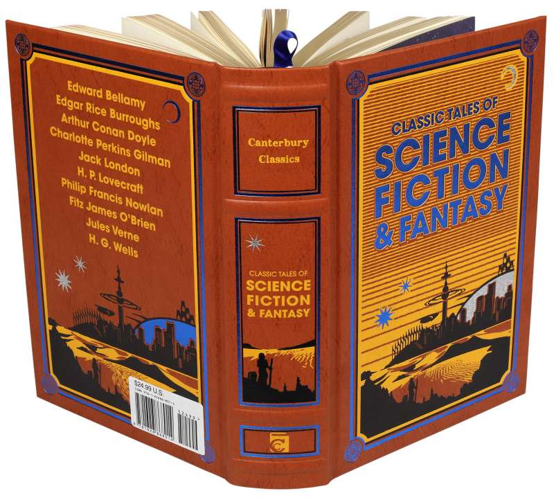 Classic Tales of Science Fiction and Fantasy - Leatherbound Edition