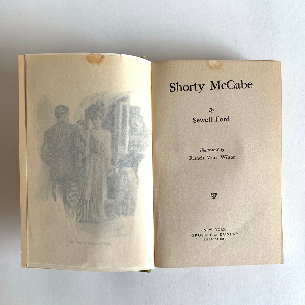 Vintage Book- Shorty McCabe by Sewell Ford