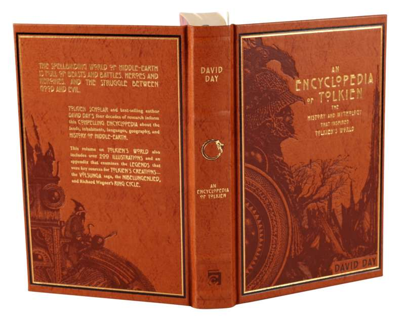 An Encyclopedia of Tolkien - Leatherbound Edition
